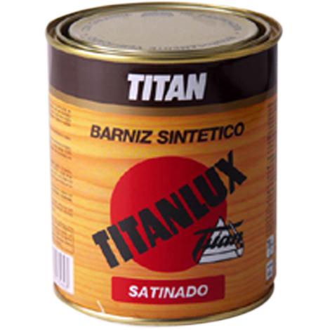 Barniz Satinado Incoloro - TITANLUX - 035000138 - 375 ML