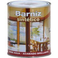 Barniz sintético al agua incoloro brillante Bupisa   375 mL