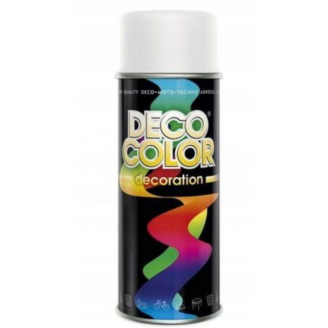 Barniz spray 400 blanco mate pintura ral9010