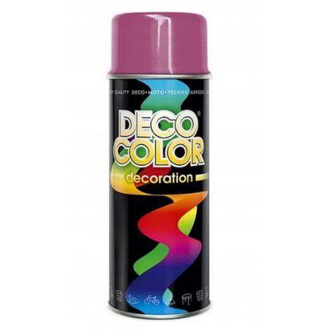 Barniz spray 400 pintura en aerosol rosa