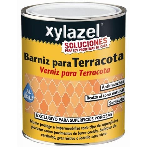 Barniz suelo terra 750 ml inc. ext. sat. xylazel agua