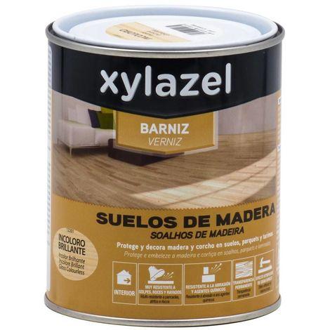 Barniz Suelos de madera Brillante Xylazel | 750 mL