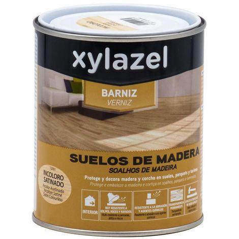 Barniz Suelos de madera satinado Xylazel