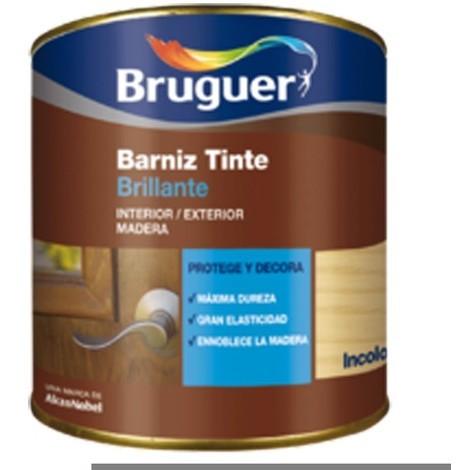 Barniz Tinte Br CastaÑo - BRUGUER - 5160521 - 250 ML