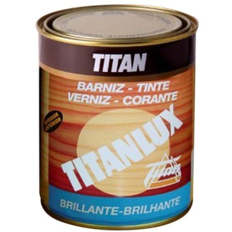 Barniz Tinte Sint Br Nogal - TITANLUX - 037100318 - 125 ML