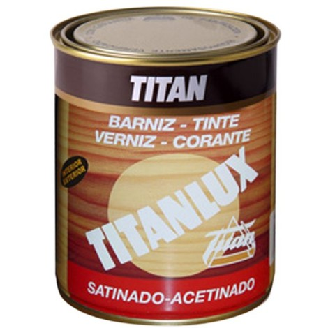 Barniz Tinte Sint Sat Roble - TITANLUX - 03R100218 - 125 ML
