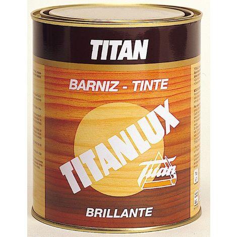 Barniz Tinte Sintet Brilla Titanlux Castaño 500ml 037100138