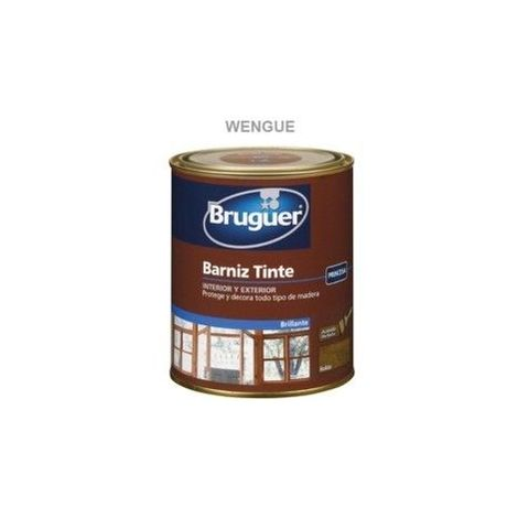 Barniz Tinte Sintetico Brillante Wengue 250ml