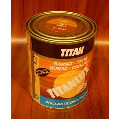 Barniz tinte sintético nogal Titan