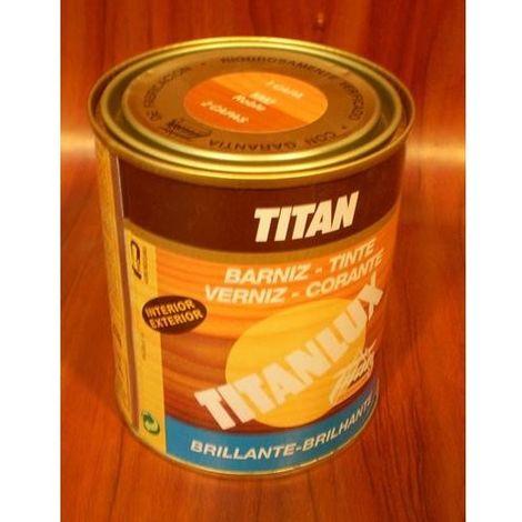Barniz tinte sintético roble Titan