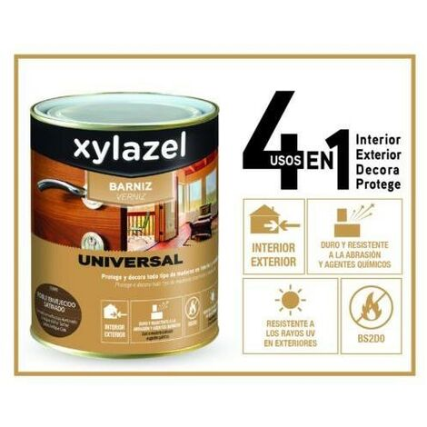 Barniz Universal Satinado Xylazel Color
