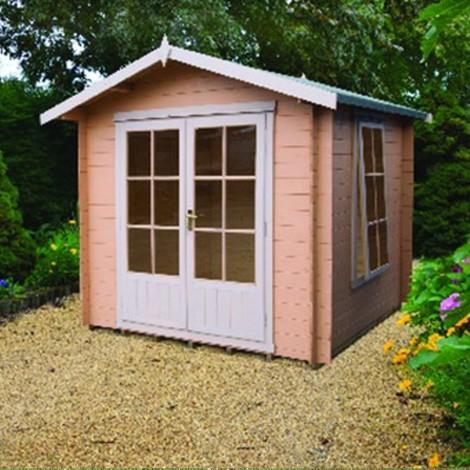 Barnsdale Log Cabin 9 x 9