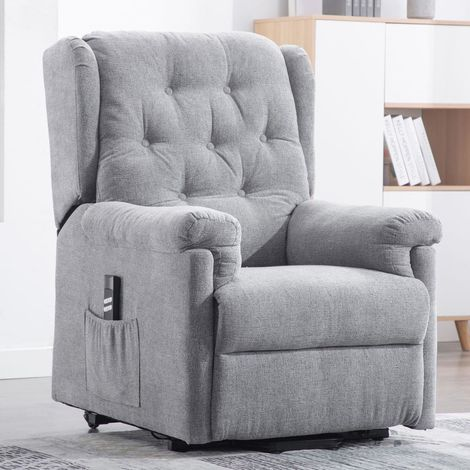 BARNSLEY DUAL RISE FABRIC RECLINER -different colors available