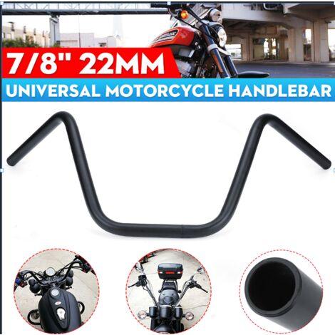"Barra de agarre universal para manillar de motocicleta de 7/8 ""22 mm 670 mm para Honda negro"