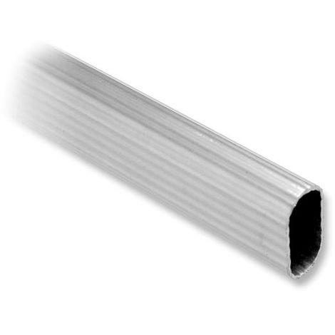 Barra de aluminio estriado 1,20 m. - talla