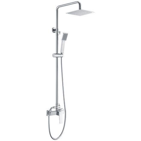 Barra de ducha acero inoxidable monomando serie Art - IMEX