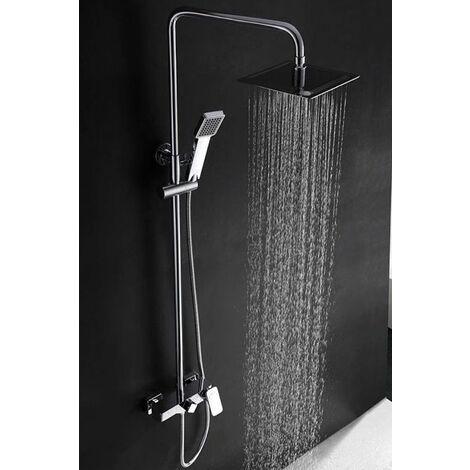 Barra de ducha cromado monomando serie Saona - IMEX