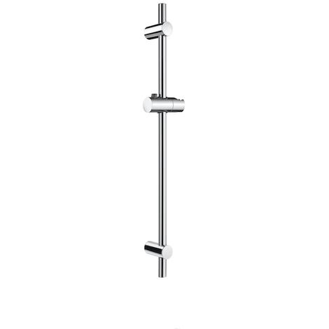Barra de ducha de 700 mm con soporte regulable para ducha teléfono - Serie Stella - Roca