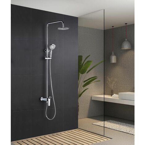 Barra de ducha monomando cromado serie Escocia - IMEX