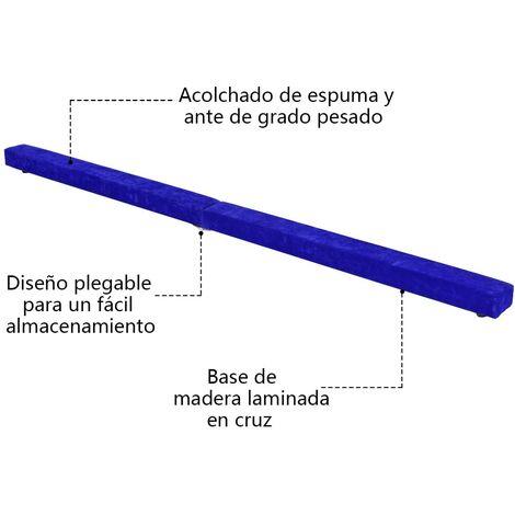 Barra de Equilibrio Gimnasia Entrenamiento Balance Beam Plegable 210 x 10 x 6.5 CM