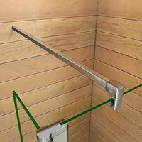 Barra de soporte 90 cm para Panel de ducha Mamparas de baño - Aica