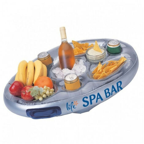 Barra flotante para Spa o piscina - color PLATA