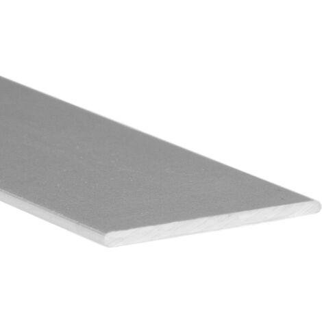 """main image of """"Barra plana de aluminio, acabado en anodizado mate y 1000 mm de largo. Ref. 9002.20.63"""""""