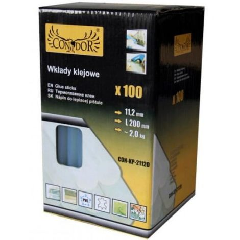 Barras de pegamento adhesivo en barras 11,2 x 200