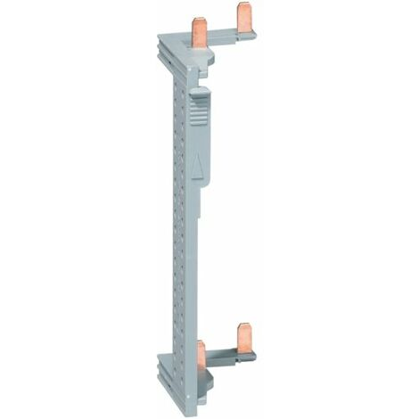 Barre alim. des interr. diff. pour coffret 2 rangées entraxe 125mm - Hager