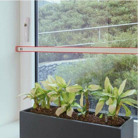 Barre blindée transversale pour fenêtre ABUS FRP217 Blanc 150cm - Blanc
