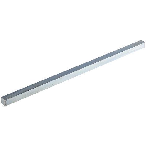 Barre Carrée, Clavette acier, 330mm x 12mm x 12mm