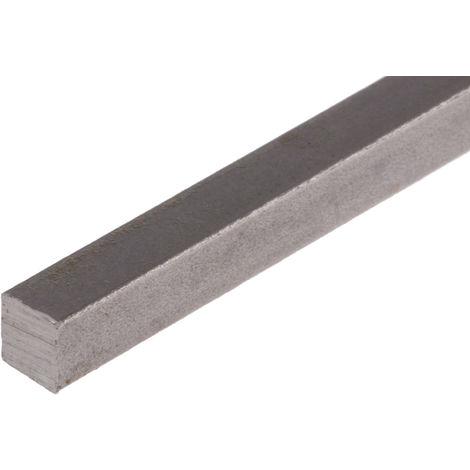 Barre carrée en acier inoxydable 316, L.304mm x 5mm x 5mm
