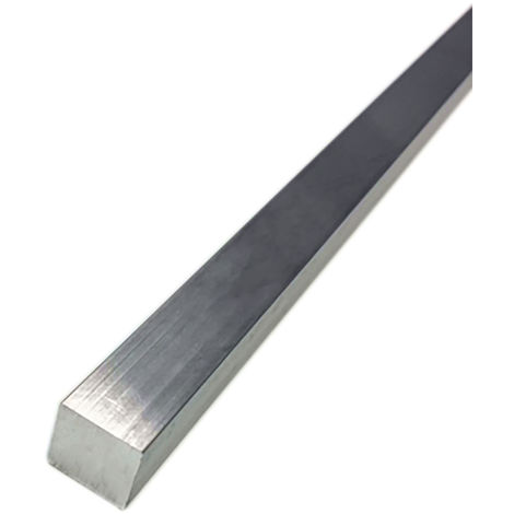 Barre Carrée HE30 Aluminium, 1pouce x 1pouce x 24pouce
