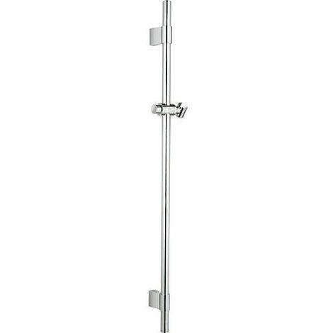 Barre de douche, 900 mm avec support mural, chrome convient pour Rainshower et Relexa