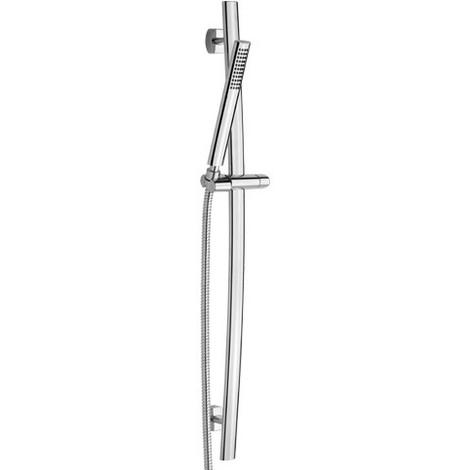 Barre de douche cm.60 avec flexible et douchette Effepi FLO Art.232