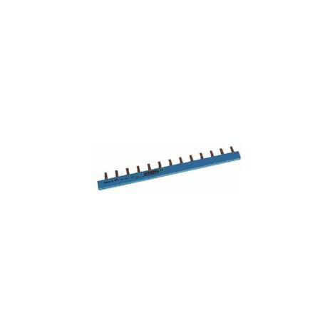Barre de pontage bleue (neutre) -13 modules - Moeller Eaton