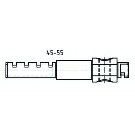 Barre de prolongement ABUS demi-cylindre 45-55 - 50MXSH12