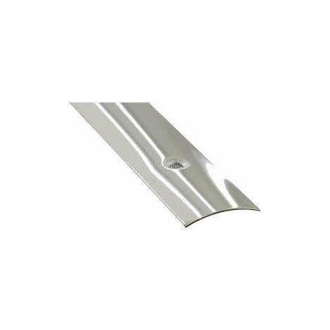 Barre de seuil percée Inox 3x73CM .