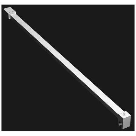 Barre de stabilisation Paroi de douche Fidji / Oceane - 6 et 8 mm - 120 cm