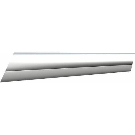 Barre de stabilisation, tube anodisé brillant, longueur 460 mm diam 16 mm