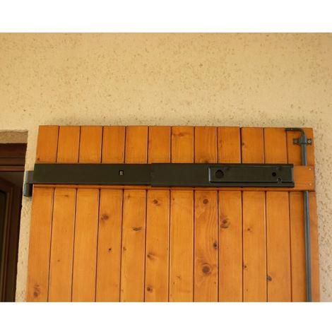 Barre de Très Haute Sécurité coulissante à verrouillage par clé spéciale 1 vantail - Alu