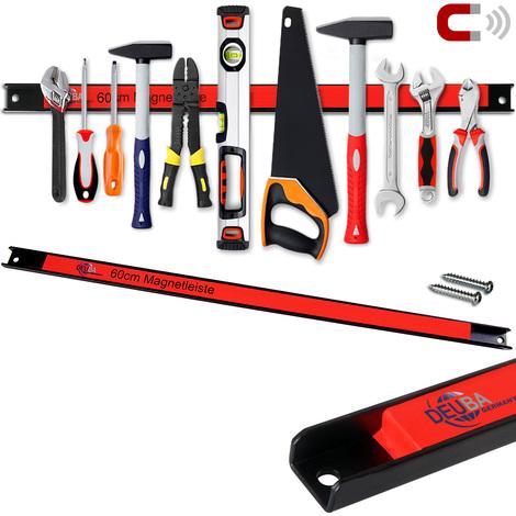 Barre magnétique pour outils 60 cm 23km charge max - Outils garage atelier