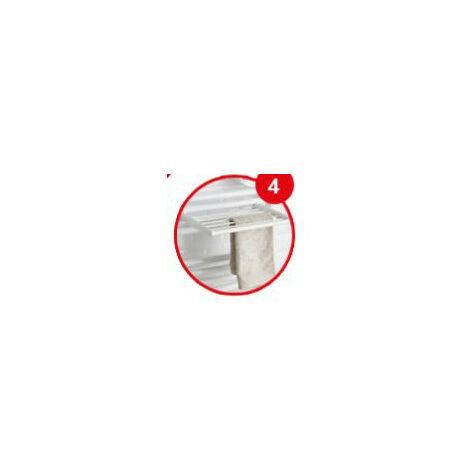 Barre Seche-Linge Chrome pour seche-serviettes tubes ronds DORIS TIMELIS 2012 ATLANTIC 850222