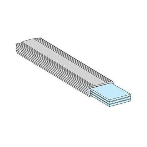 Barre souple isolée 32 x 6 mm, L = 1800 mm - 04752