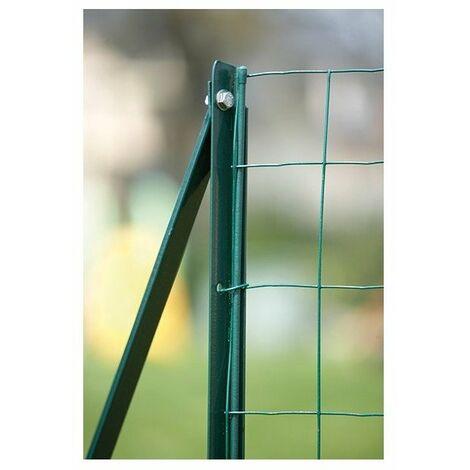 Barre tension plast vert 1m80-u