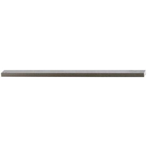 Barreau, norme d'entreprise, forme L1, double trapèze, h x l - h12 : 12 x 3 mm, Long. totale 85 mm