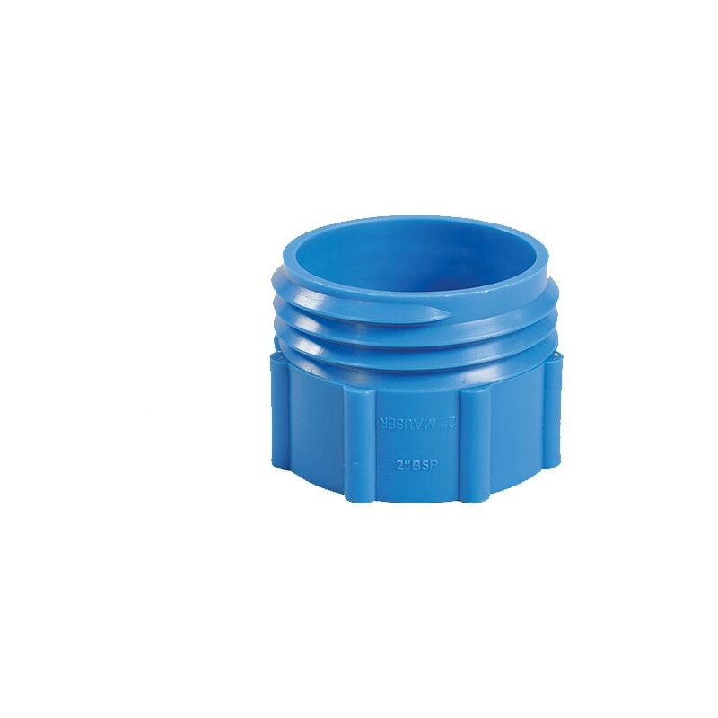 Image of Barrel Adaptor 2' BSP - Plastic Drum Mauser Blue - Hartle Ige