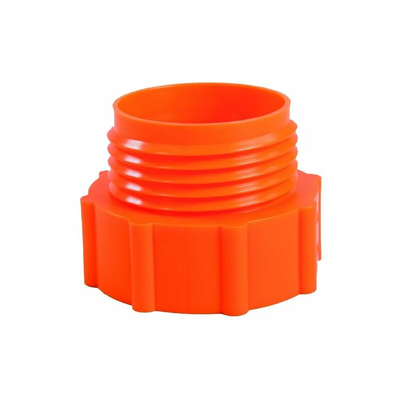 Image of Barrel Adaptor 2' BSP - Plastic Drum Trisure Orange - Hartle Ige