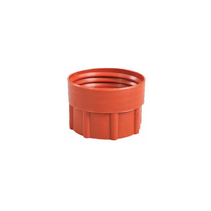 Image of Barrel Adaptor 2' BSP - Plastic Drum DIN71 Brown - Hartle Ige
