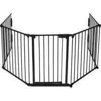 Barrera de seguridad infantil de metal 300cm